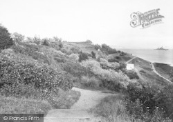 Weymouth, The Nothe Gardens 1923