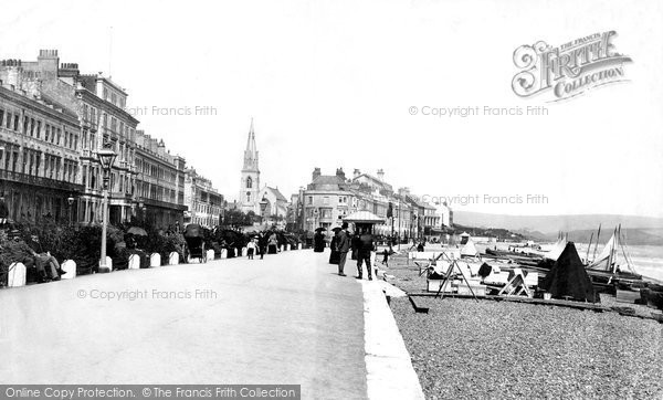 Photo of Weymouth, The Parade 1894