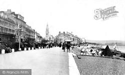 Weymouth, The Parade 1894