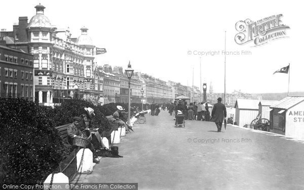 Photo of Weymouth, The Parade 1898