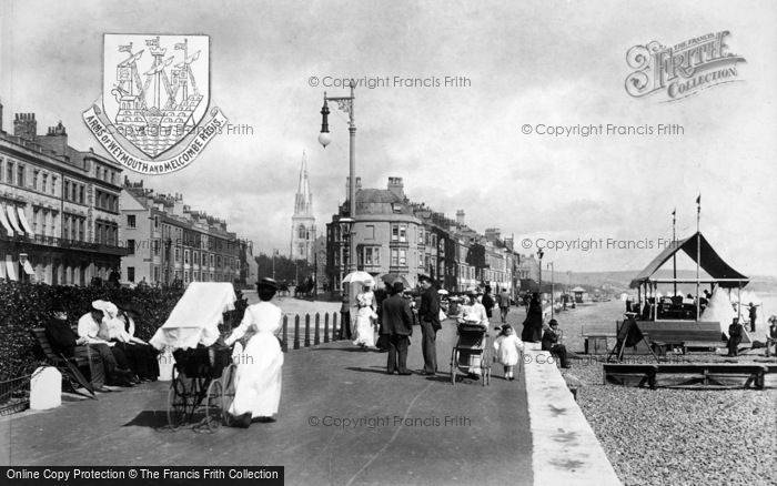 Photo of Weymouth, The Parade 1904