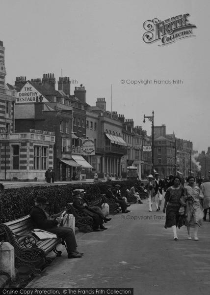 Photo of Weymouth, The Parade, Dorothy Restaurant 1923