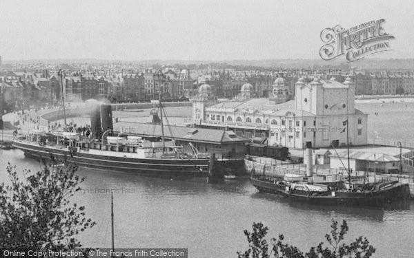 Photo of Weymouth, The Pavilion 1909