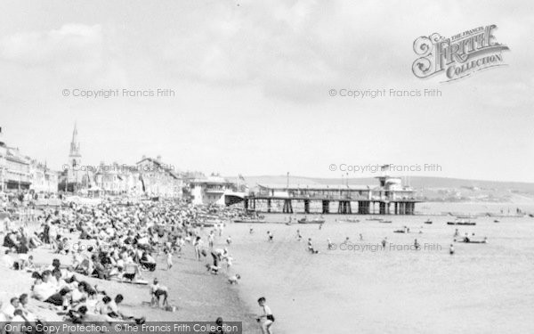 Photo of Weymouth, The Pier c.1955