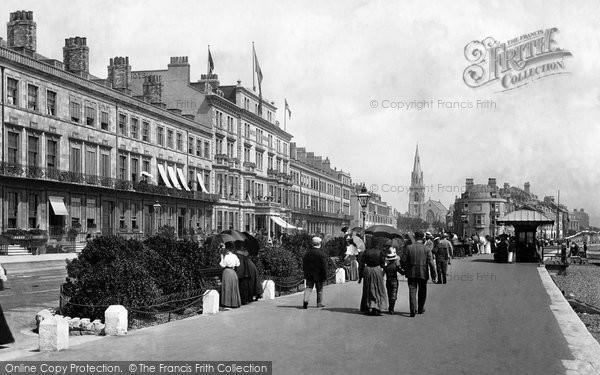 Photo of Weymouth, The Promenade 1899