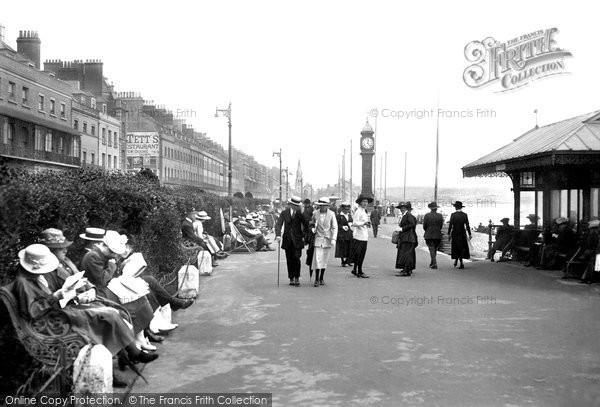 Weymouth, the Promenade 1918
