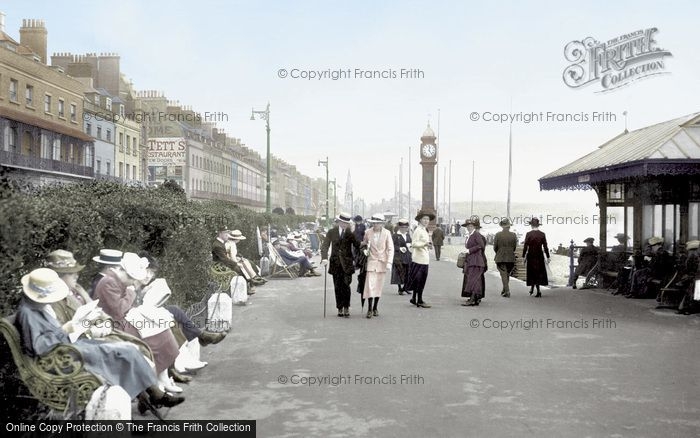 Photo of Weymouth, The Promenade 1918