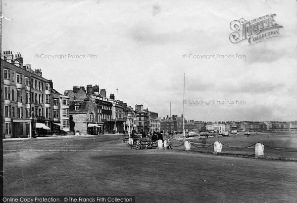 Photo of Weymouth, The Promenade c.1875