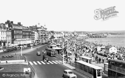 The Promenade c.1955, Weymouth