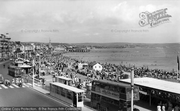 Photo of Weymouth, The Promenade c.1960