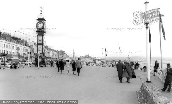 Photo of Weymouth, The Promenade c.1965