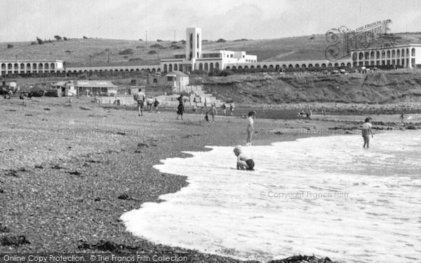 Photo of Weymouth, The Riviera, Bowleaze Cove c.1955