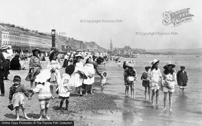 Photo of Weymouth, The Sands 1909