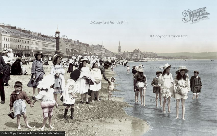 Weymouth, the Sands 1909