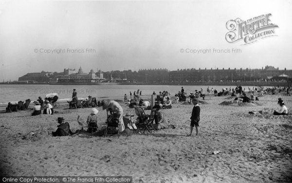 Photo of Weymouth, The Sands 1913