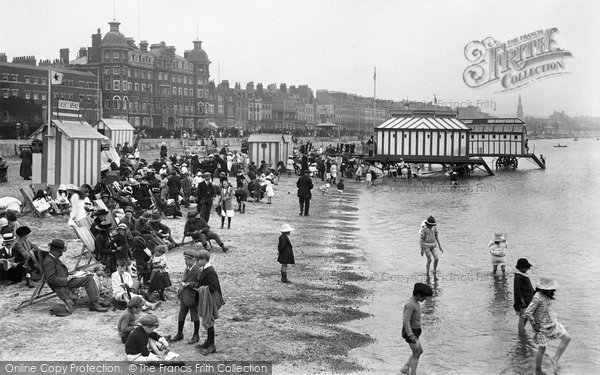 Photo of Weymouth, The Sands 1918