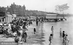 Weymouth, The Sands 1918