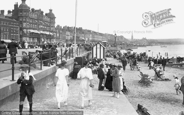Photo of Weymouth, The Sands 1923