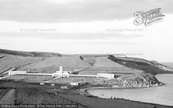 Photo of Weymouth, View Of Coast, Bowleaze Cove c.1955
