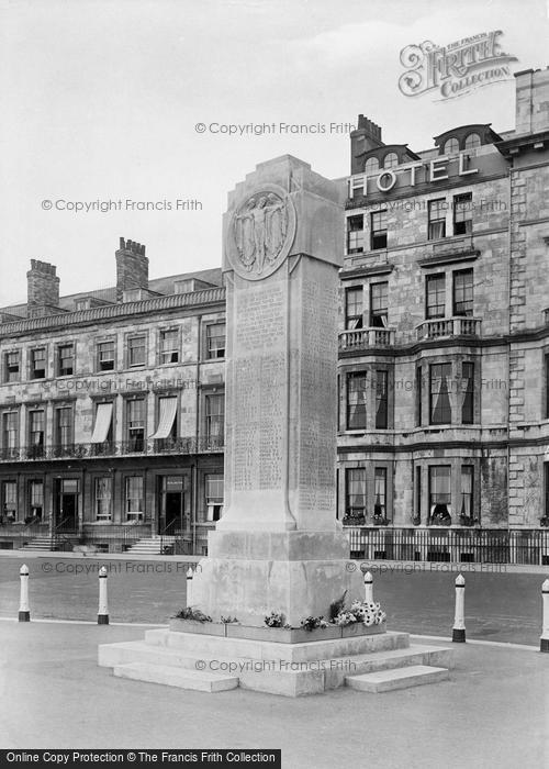 Photo of Weymouth, War Memorial 1923
