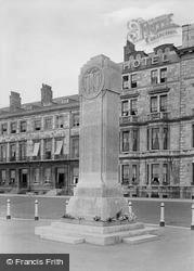 Weymouth, War Memorial 1923