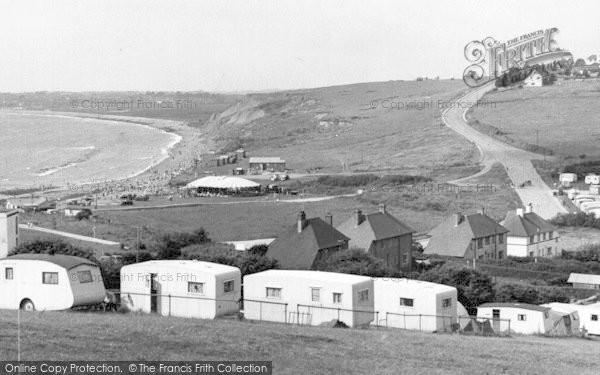 Photo of Weymouth, Waterside Camp, Bowleaze Cove c.1955
