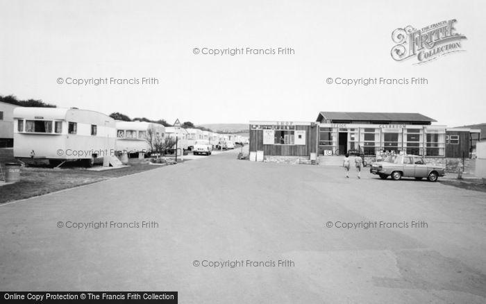 Photo of Weymouth, Waterside Caravan Park, Bowleaze Cove c.1965