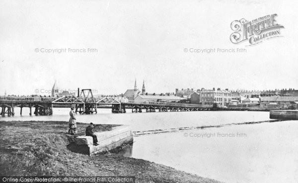 Photo of Weymouth, Westham Bridge c.1877