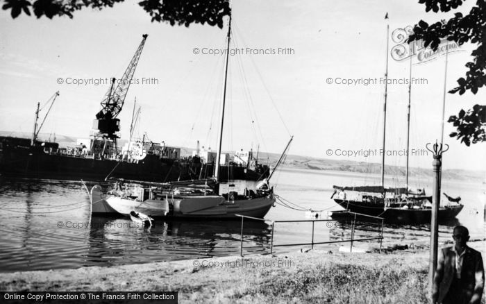 Photo of Weymouth, Yachts In Harbour c.1955