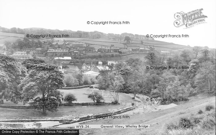 Photo of Whaley Bridge, General View c.1960