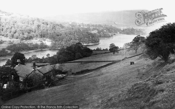 Whaley Bridge, the Toddbrook Reservoir c1955