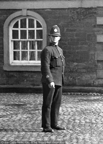 Photo of Whalley, A Policeman 1921