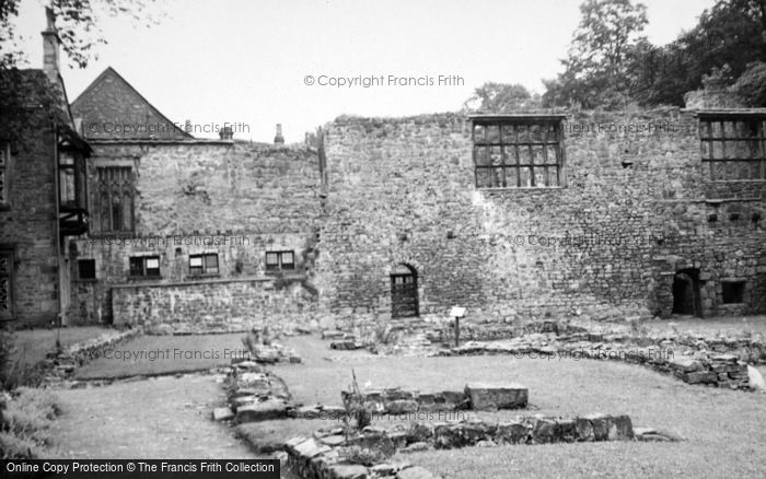 Photo of Whalley, Abbey c.1950