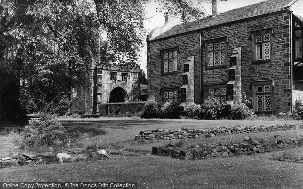 Photo of Whalley, Abbey c.1965