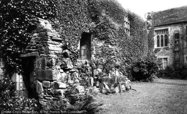 Photo of Whalley, Abbey, The Abbot's Kitchen 1894
