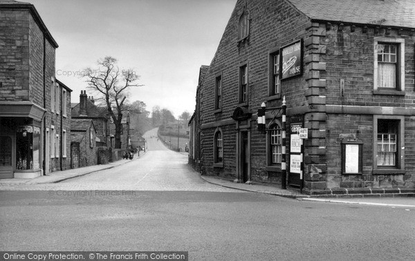 Photo of Whalley, Accrington Road Junction c.1955