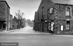 Accrington Road Junction c.1955, Whalley
