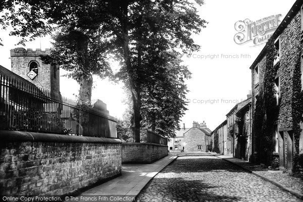 Photo of Whalley, Church Lane 1906