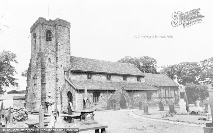 Photo of Whalley, Church Of St Mary And All Saints c.1965