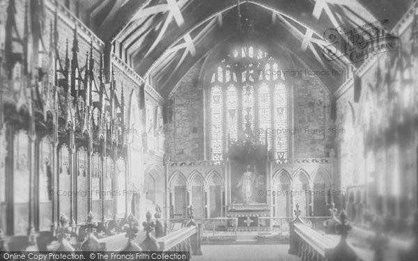 Photo of Whalley, Church, The Choir 1899
