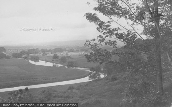 Photo of Whalley, From Accrington Road 1921