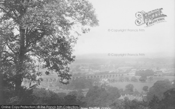 Photo of Whalley, From The Nab 1901