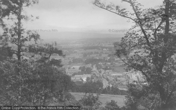 Photo of Whalley, From The Nab 1921