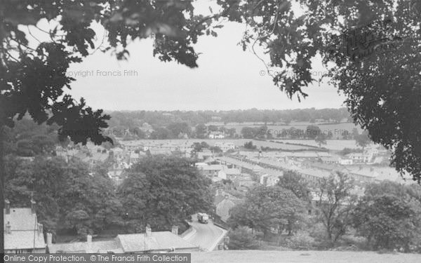 Photo of Whalley, From The Nab c.1955