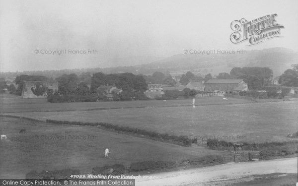 Photo of Whalley, From The Viaduct 1901