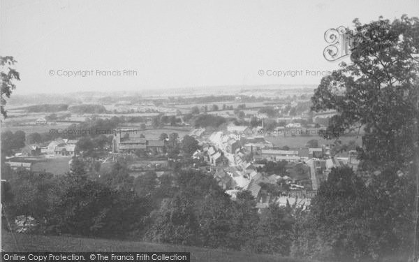 Photo of Whalley, General View 1895