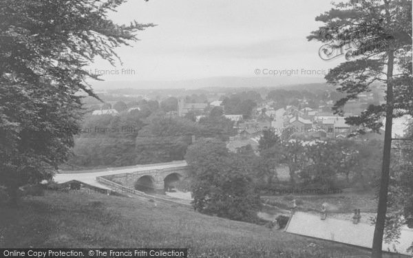 Photo of Whalley, General View 1921