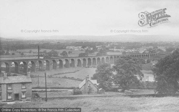 Photo of Whalley, General View c.1955