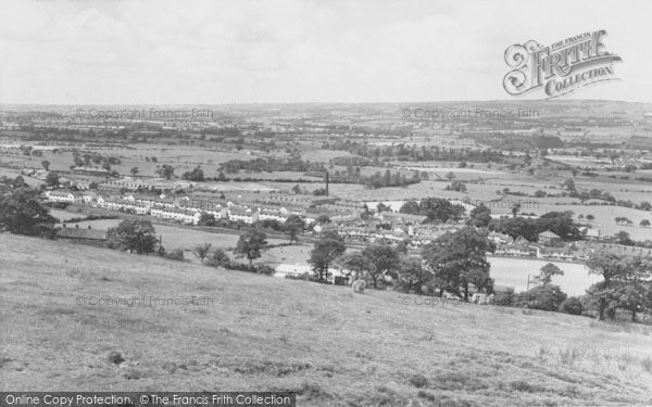 Photo of Whalley, General View c.1965