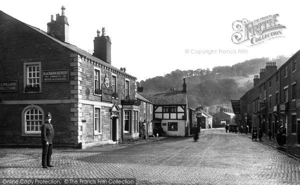 Photo of Whalley, King Street 1921